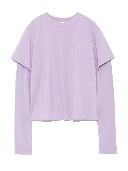 ロングスリーブレイヤードTシャツ
