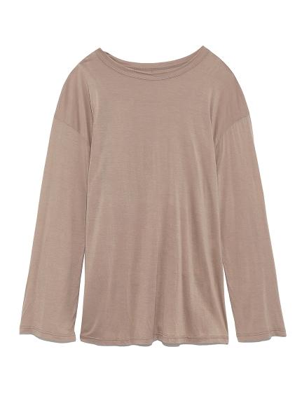 ロングスリーブTシャツ(BEG-F)