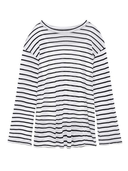 ロングスリーブTシャツ(BORDER-F)