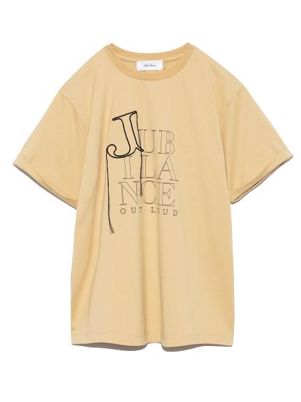 3段ロゴプリントTシャツ(BEG-0)