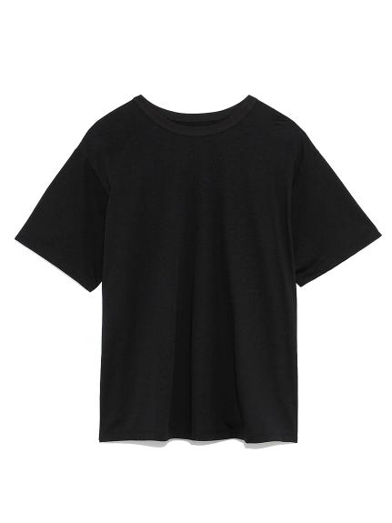 ハイラインクルーネックTシャツ(BLK-0)