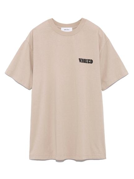 パフプリントTシャツ