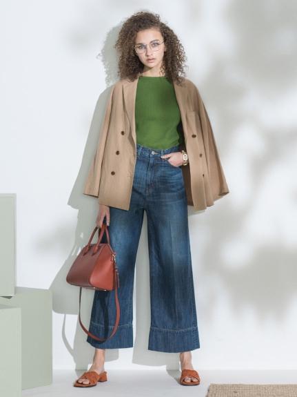 スコッチボタンダブルシャツジャケット(BEG-0)