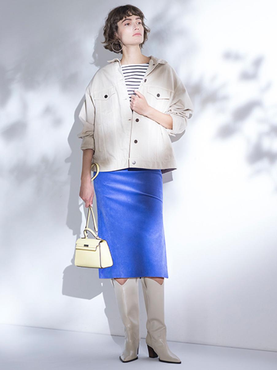サマーコールタイトスカート(PPL-0)