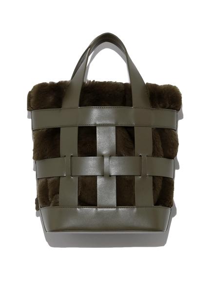 エコファーバケットバッグ