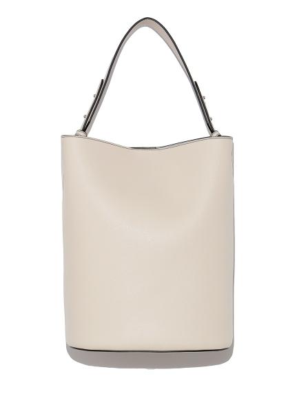 エコレザーバケットバッグ