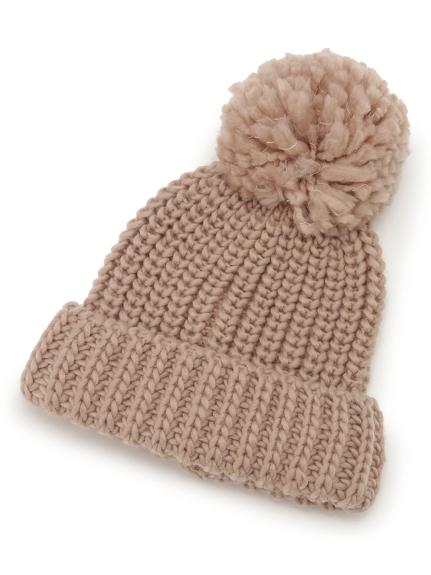 ポンポンニット帽(MOC-F)