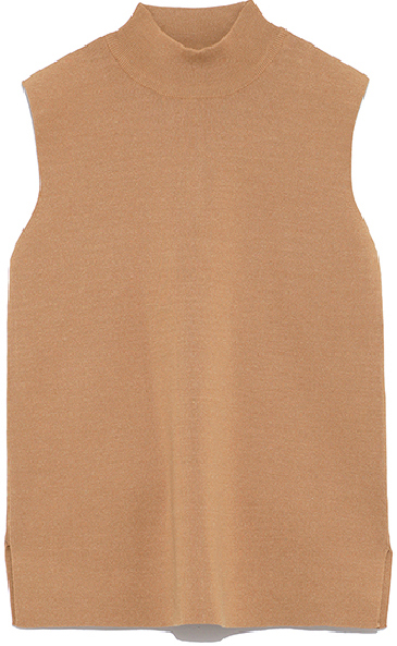Sleeveless Knit Tops