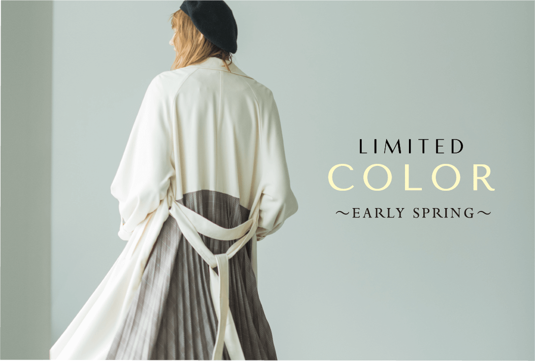 LIMITED COLOR 〜EARLY SPRING〜